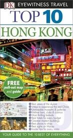 HONG KONG przewodnik TOP 10 DK ang 2015