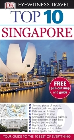 SINGAPUR przewodnik TOP 10 DK ang 2013