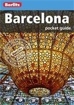BARCELONA pocket guide przewodnik BERLITZ 2013
