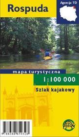 ROSPUDA Szlak kajakowy MAPA TURYSTYCZNA 1:85 000 mapa papierowa TD