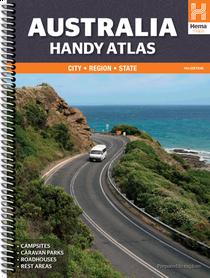 AUSTRALIA podręczny atlas samochodowy HEMA