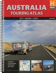 AUSTRALIA touring atlas samochodowy HEMA