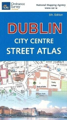 DUBLIN kieszonkowy atlas miasta 1:6 500 OSI