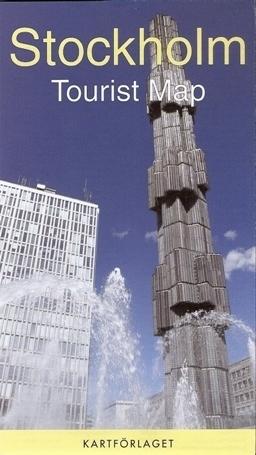 SZTOKHOLM plan miasta 1:13 000 KARTCENTRUM