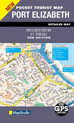 PORT ELIZABETH plan miasta 1:20 000 MAPSTUDIO