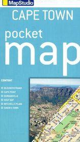 CAPE TOWN KAPSZTAD kieszonkowy plan miasta 1:10 000 MAPSTUDIO