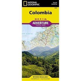 KOLUMBIA mapa wodoodporna NATIONAL GEOGRAPHIC 2019