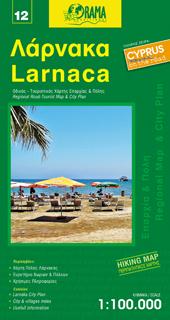 LARNAKA LARNACA mapa turystyczna 1:100 000 ORAMA