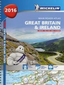 WIELKA BRYTANIA I IRLANDIA atlas samochodowy MICHELIN 2016