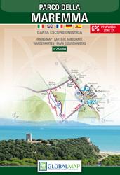 PARK MAREMMA mapa turystyczna 1:25 000 LAC