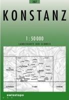 207 KONSTANZ mapa topograficzna 1:50 000 SWISSTOPO