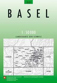 213 BASEL mapa topograficzna 1:50 000 SWISSTOPO