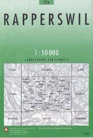 226 RAPPERSWIL mapa topograficzna 1:50 000 SWISSTOPO