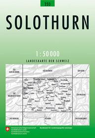233 SOLOTHURN mapa topograficzna 1:50 000 SWISSTOPO
