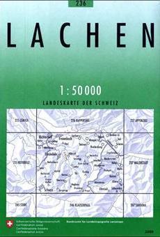 236 LACHEN mapa topograficzna 1:50 000 SWISSTOPO