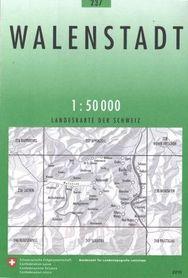 237 WALENSTADT mapa topograficzna 1:50 000 SWISSTOPO