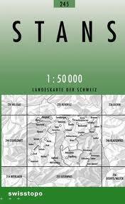 245 STANS mapa topograficzna 1:50 000 SWISSTOPO