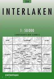 254 INTERLAKEN mapa topograficzna 1:50 000 SWISSTOPO