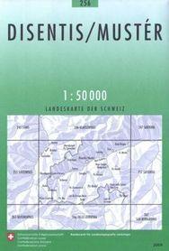 256 DISENTIS/MUSTER mapa topograficzna 1:50 000 SWISSTOPO