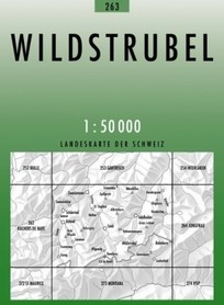 263 WILDSTRUBEL mapa topograficzna 1:50 000 SWISSTOPO