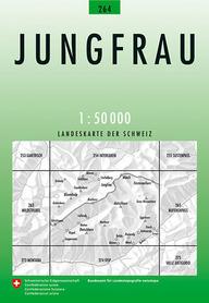 264 JUNGFRAU mapa topograficzna 1:50 000 SWISSTOPO