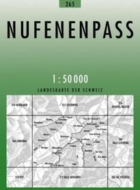 265 NUFENENPASS mapa topograficzna 1:50 000 SWISSTOPO