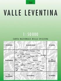 266 VALLE LEVENTINA mapa topograficzna 1:50 000 SWISSTOPO