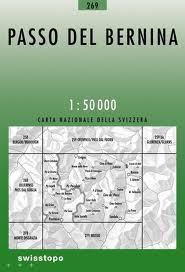 269 BERNINAPASS mapa topograficzna 1:50 000 SWISSTOPO