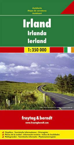 IRLANDIA mapa samochodowa 1:350 000 FREYTAG & BERNDT