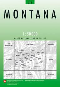 273 MONTANA mapa topograficzna 1:50 000 SWISSTOPO