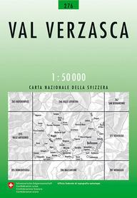 276 VAL VERZASCA mapa topograficzna 1:50 000 SWISSTOPO