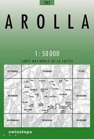 283 AROLLA mapa topograficzna 1:50 000 SWISSTOPO