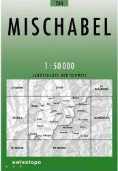 284 MISCHABEL mapa topograficzna 1:50 000 SWISSTOPO