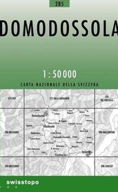 285 DOMODOSSOLA mapa topograficzna 1:50 000 SWISSTOPO