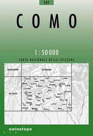 297 COMO mapa topograficzna 1:50 000 SWISSTOPO