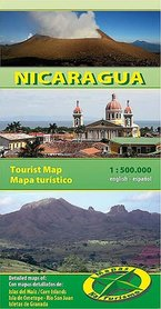 NIKARAGUA mapa turystyczna 1:500 000 NATURISMO