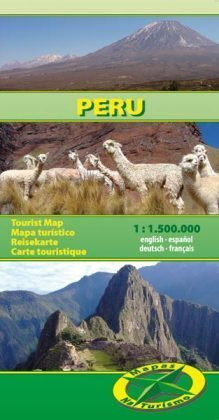 PERU  mapa turystyczna 1:1 500 000 NATURISMO