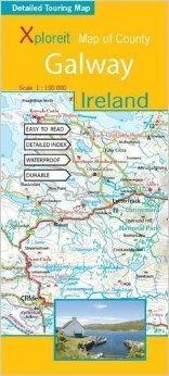 GAKWAY - IRLANDIA mapa turystyczna wodoodoporna XPLOREIT MAPS