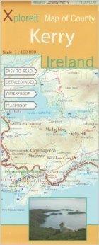 KERRY - IRLANDIA mapa turystyczna wodoodoporna XPLOREIT MAPS