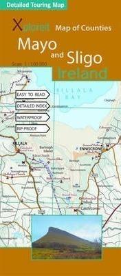 MAYO & SLIGO - IRLANDIA mapa turystyczna wodoodoporna XPLOREIT MAPS