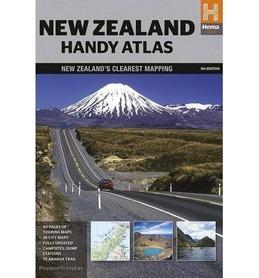NOWA ZELANDIA podręczny atlas samochodowy HEMA 2015