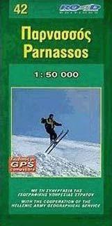 PARNASSOS mapa turystyczna 1:50 000 ROAD EDITIONS