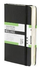 MILANO - MEDIOLAN atlas miasta z notesem MOLESKINE