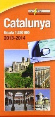 KATALONIA mapa samochodowa 1:250 000 GEOESTEL 2014