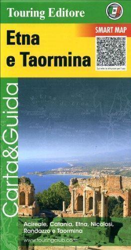 ETNA I TAORMINA mapa samochodowo - turystyczna 1:175 000 TOURING EDITORE