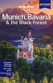 MONACHIUM BAWARIA I SCHWARZWALD W.4 przewodnik LONELY PLANET 2013