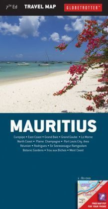 MAURITIUS mapa 1:80 000 NEW HOLLAND PUBLISHERS