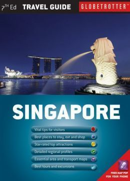 SINGAPUR TRAVEL PACK mapa i przewodnik NEW HOLLAND PUBLISHERS