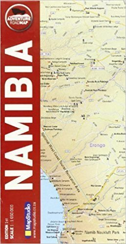 NAMIBIA mapa 1:1 650 000 MAP STUDIO