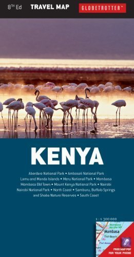 KENIA  mapa 1:1 300 000 NEW HOLLAND PUBLISHERS
